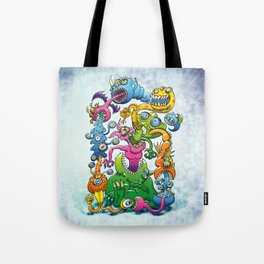 Monstrously Messy Tote Bag