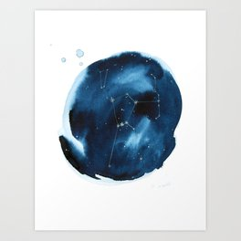 Orion Constellation Art Print