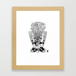 Paddle Peaces Framed Art Print