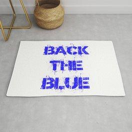 Back the Blue Rug