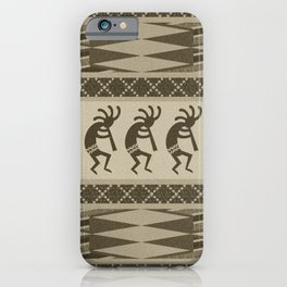 Southwest Kokopelli iPhone Case