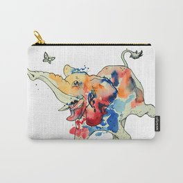 Elephant Fun Time! Carry-All Pouch