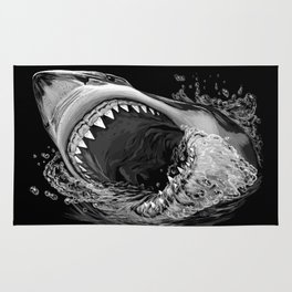 Shark Painting 2 Rug