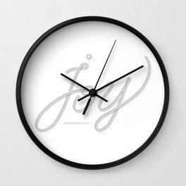 Joy – Ghost Wall Clock