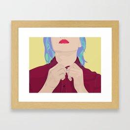 Job Interview Framed Art Print