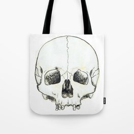Simple Skull Tote Bag