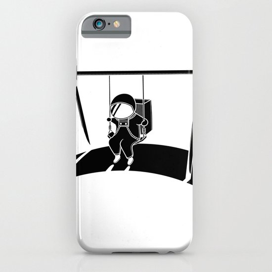 In Space No One Will Push Your Swing iPhone & iPod Case