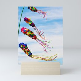 Bali - Flying Colorful Kites Mini Art Print