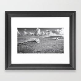 Fistral Swell Framed Art Print