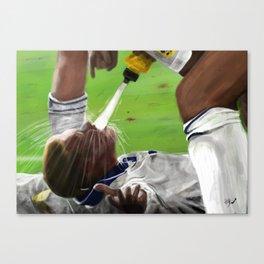 Gazza - Euro 96 Canvas Print