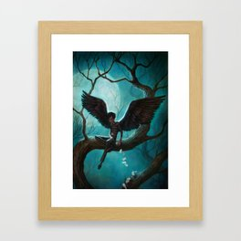 The Mysterious Mr. Spines : WINGS Framed Art Print