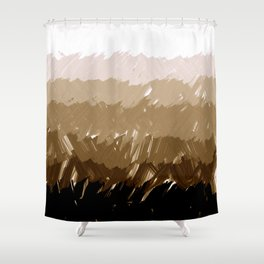 Shades of Sepia Shower Curtain