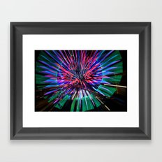 Night Light 144 - Wheel Framed Art Print
