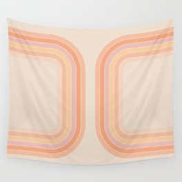 Tangerine Tunnel Wall Tapestry