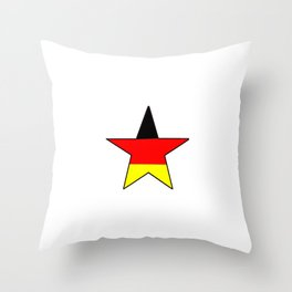 Flag of Germany 4 Throw Pillow