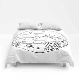 Pacific Northwest 2 Comforters