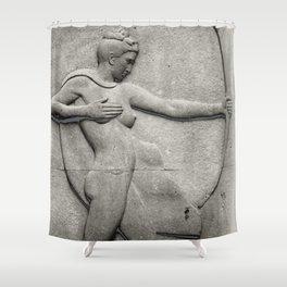 Diana: Huntress Shower Curtain