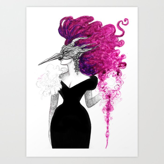 Goblin Queen Art Print