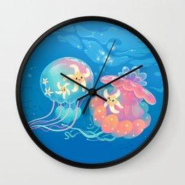 Jellyfish bus Wall Clock