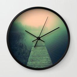 Drowning echoes Wall Clock