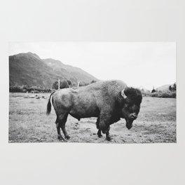 Alaska Bison Rug