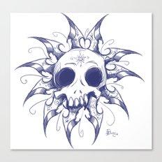 Salomonic skull  Canvas Print