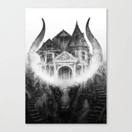House of Leaves by Kristina Carroll Canvas Print
