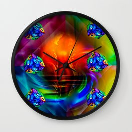 Dice - Game 20 Wall Clock