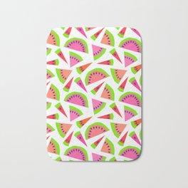 Juicy, juicy watermelon ... Bath Mat