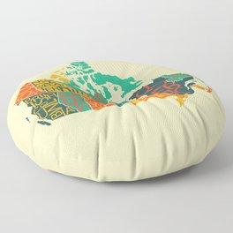 Canada Floor Pillow