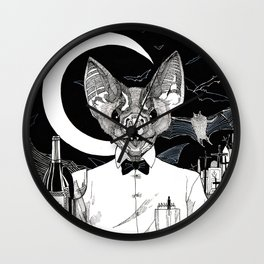 The Cryptids - Vampire Wall Clock