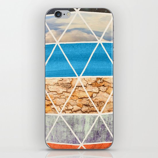 Eco Geodesic  iPhone & iPod Skin