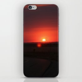 Sunset Highway iPhone Skin