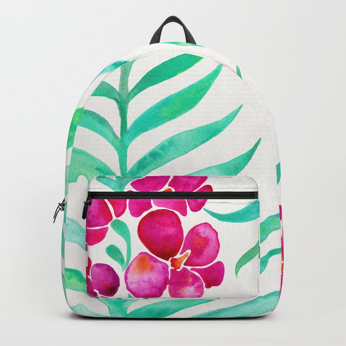 Blooming Orchid – Magenta & Mint Palette Backpack