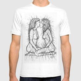 Sexual Energy b&w T-shirt