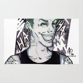 Punk Joker Rug