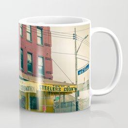 Pittsburgh Strip District Steeler Country Pride Coffee Mug