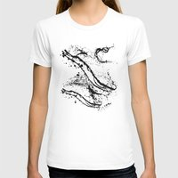 splatter T-shirts featuring Black Splatter by C Designz