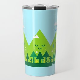 Monday Mountains Travel Mug