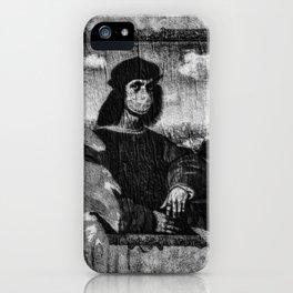 Renaissance Face Street Art iPhone Case