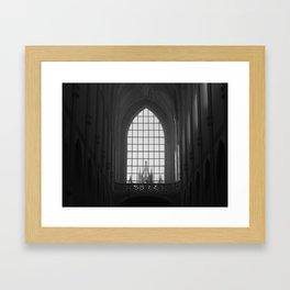 Big Church / Small Town Framed Art Print