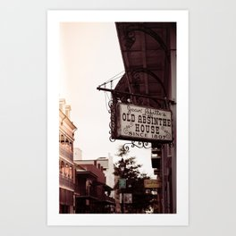 Old Absinthe House - New Orleans Art Print