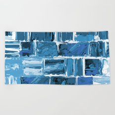 486 - Abstract Collection Beach Towel