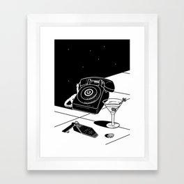 Tranquility Base Hotel + Casino Framed Art Print