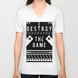 Destroy the Game Unisex V-Neck