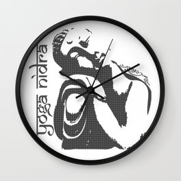 Yoga Nidra - Buddha Wall Clock