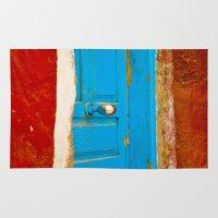 door Area & Throw Rugs featuring Door by Maite Pons