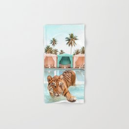 Cabana Tiger Hand & Bath Towel