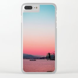 Afternoon Delight Clear iPhone Case
