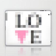 Exaggerated Pixelated LOVE Laptop & iPad Skin